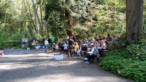 Bill M; Salmon in Schools; Imprint Pond Amphitheater